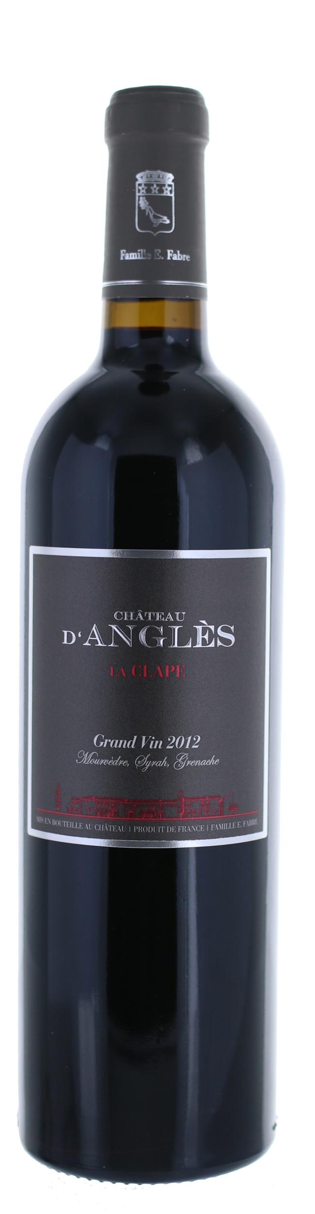 La Clape - Grand Vin Rouge - Château d\'Angles -  2017