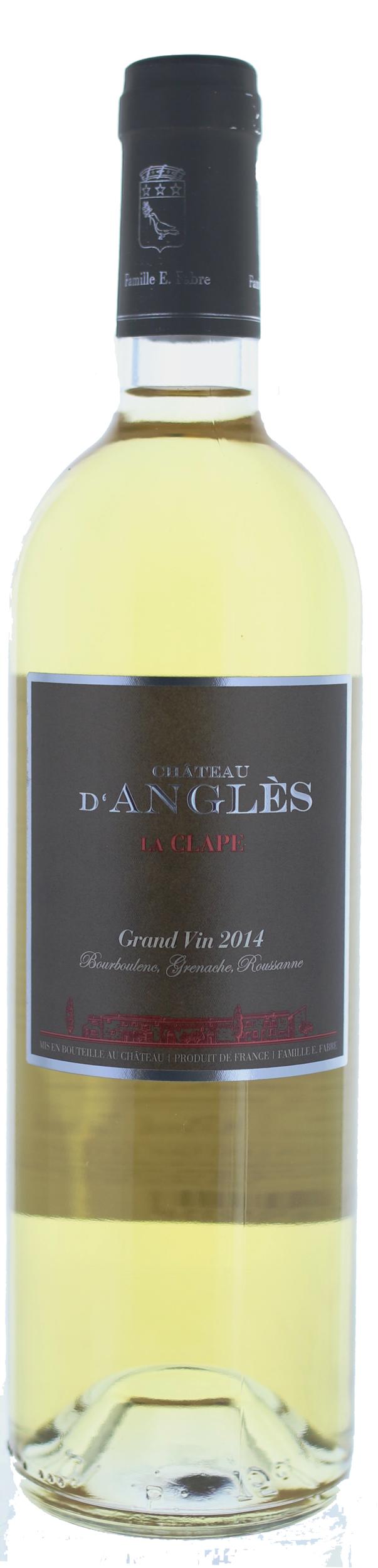 La Clape - Grand Vin Blanc - Château d\'Angles - 2015