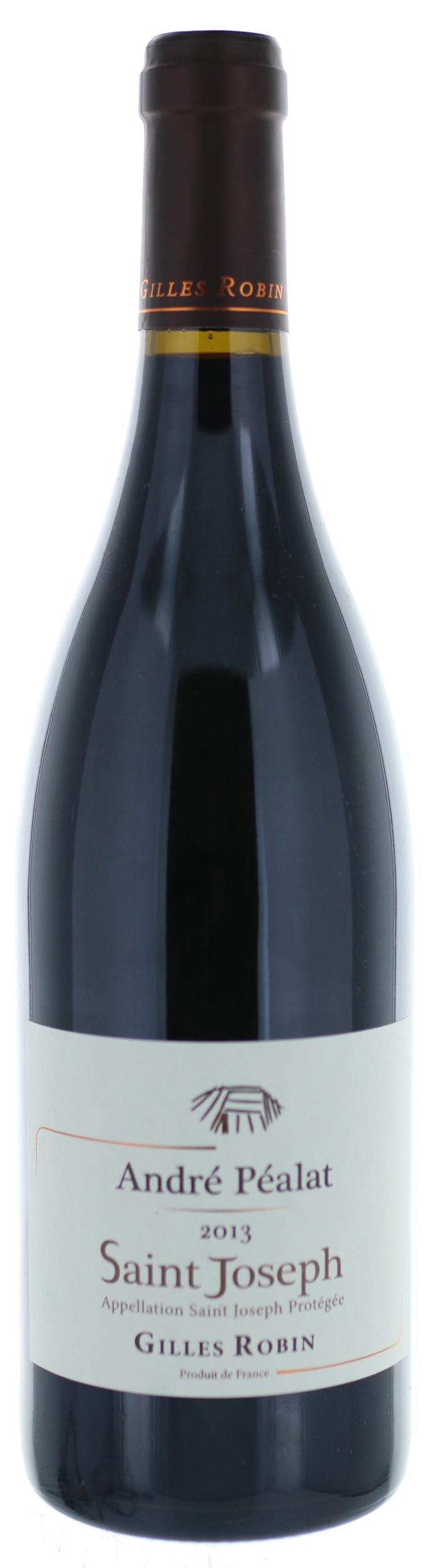 Saint Joseph - Cuvée André Pealat  - Domaine Gilles Robin - 2017 - BIO