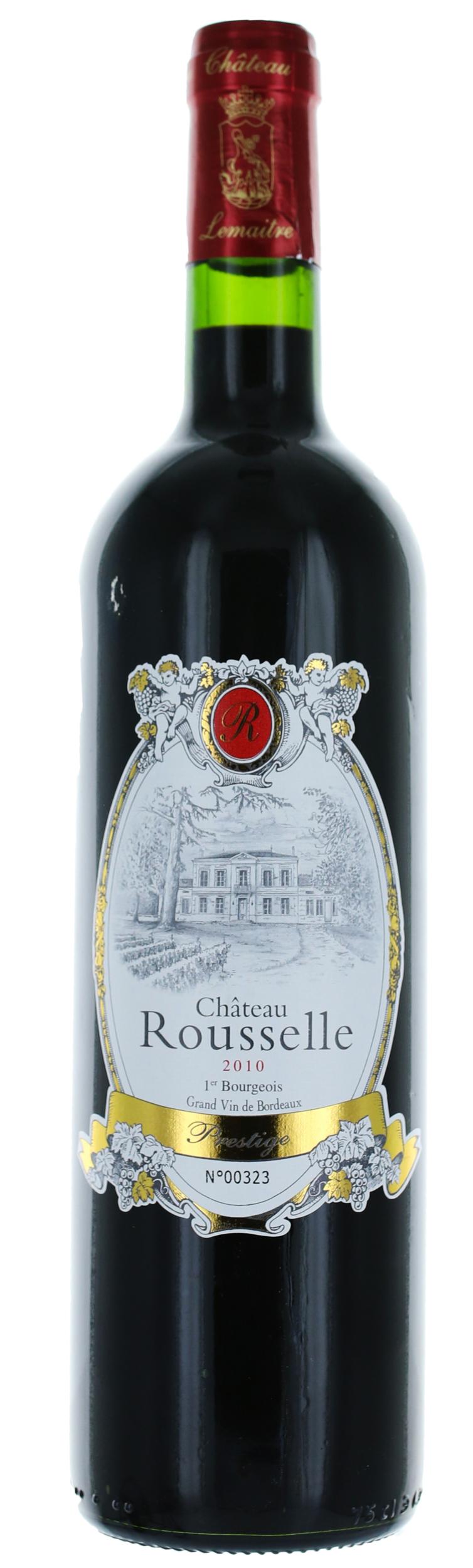 Côtes de Bourg - Cuvee Prestige - Château Rousselle - Vignobles Lemaitre - 2016