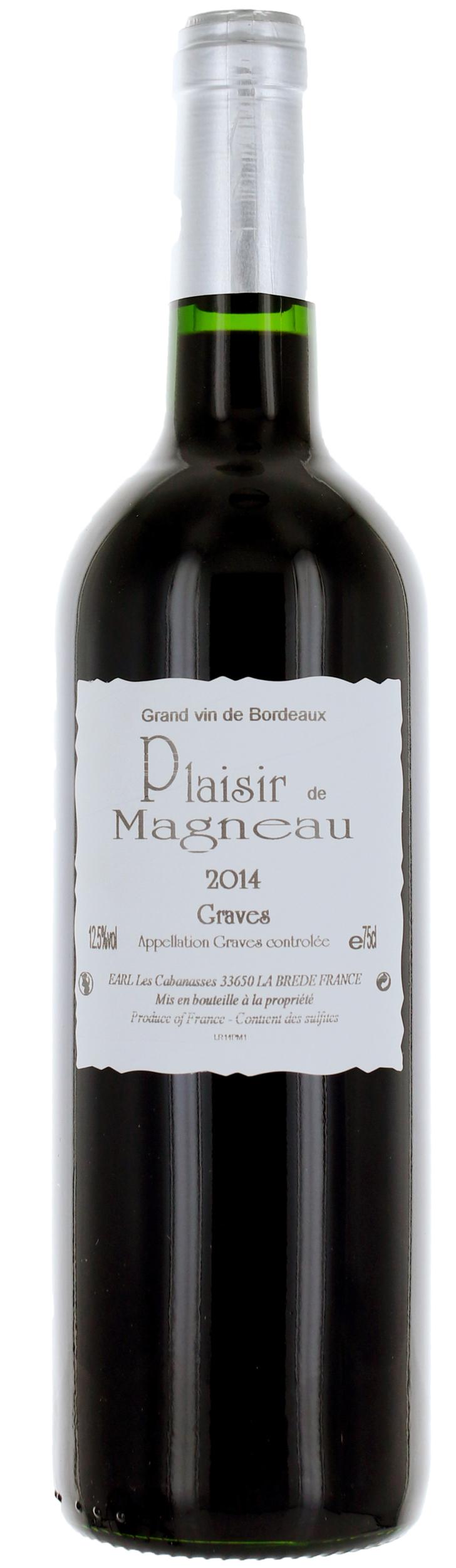 Graves - Plaisir de Château Magneau - 2018