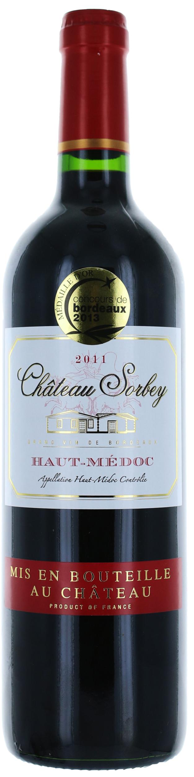 Haut Medoc - Château Sorbey - Vignobles Meyre - 2015