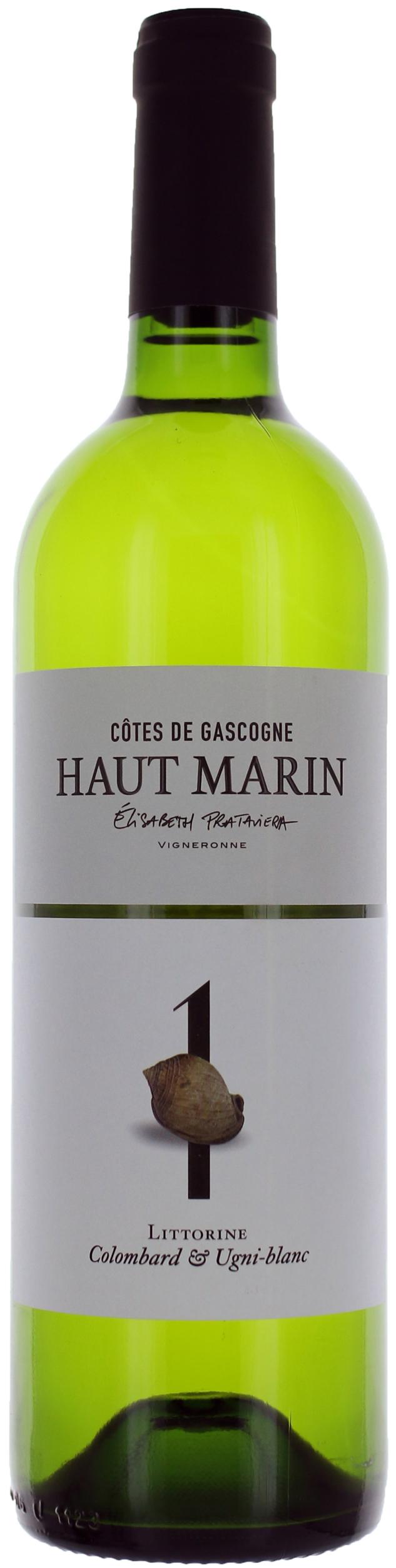 Côtes de Cascogne - Colombard Ugni Blanc N°1 - Domaine Haut-Marin - 2018