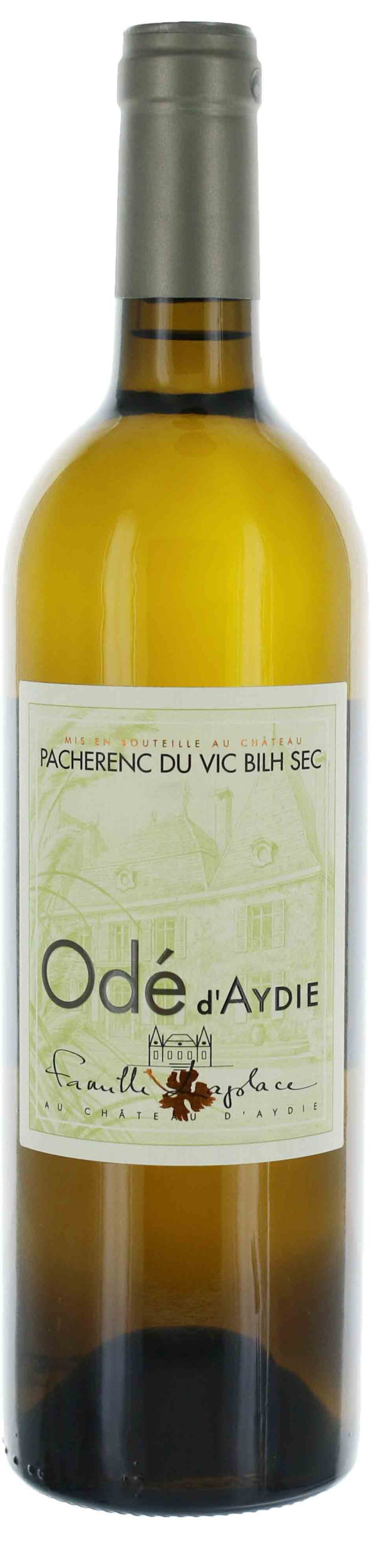Ode d\'Aydie Pacherenc du Vic - Bilh Blanc sec - Château D\'Aydie - 2019