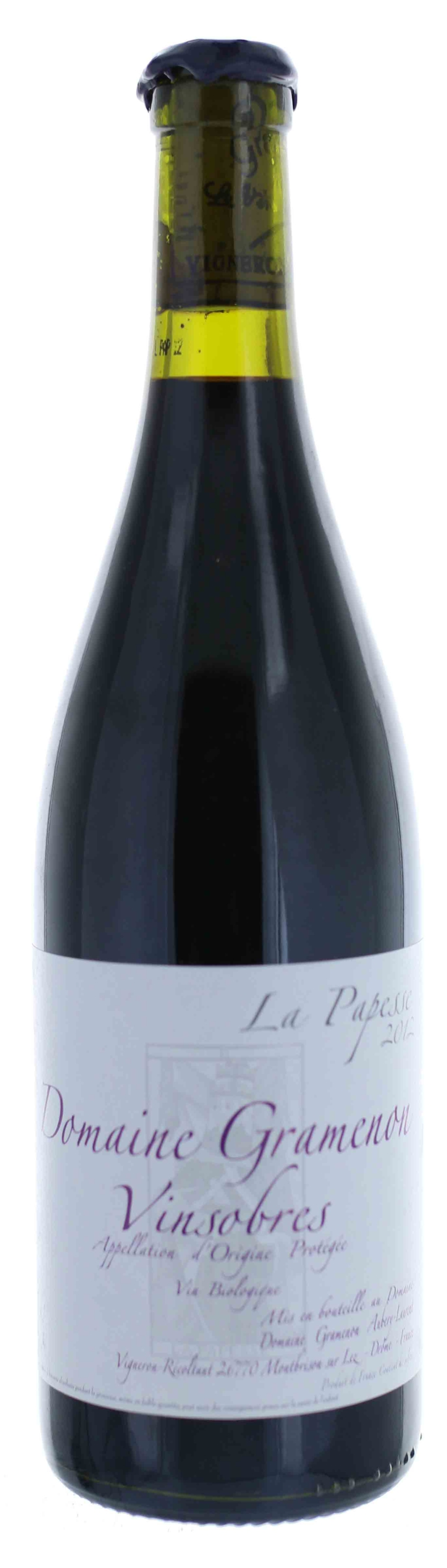 Vinsobres - La Papesse - Domaine Gramenon - 2017 - BIO