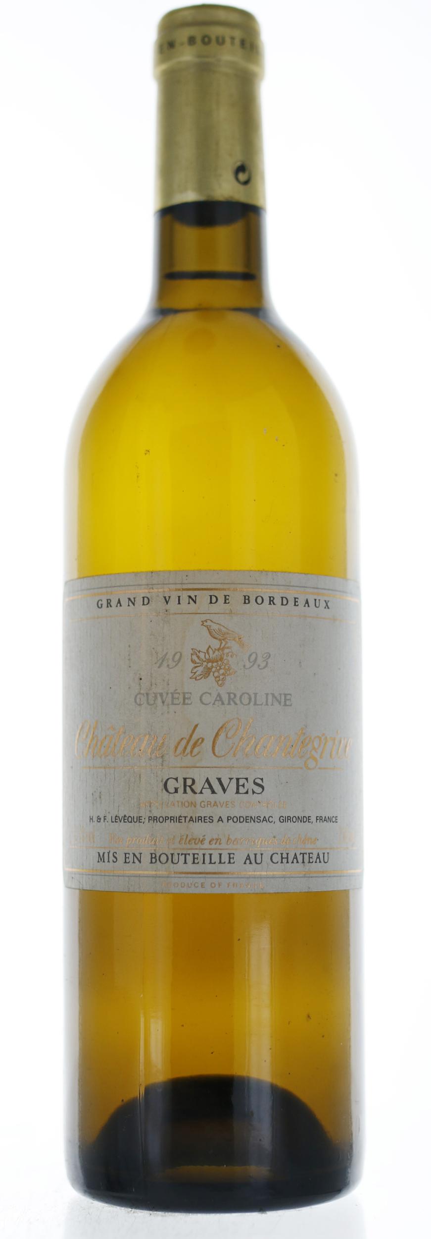 Graves Pessac Leognan - Chantegrive Cuvee Caroline  - 1993