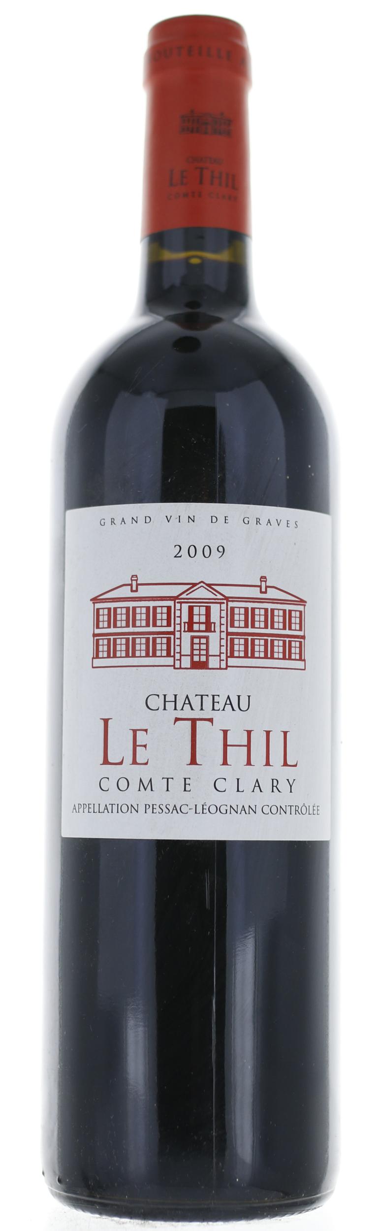 Pessac Leognan - Le Thill Comte Clary - 2009