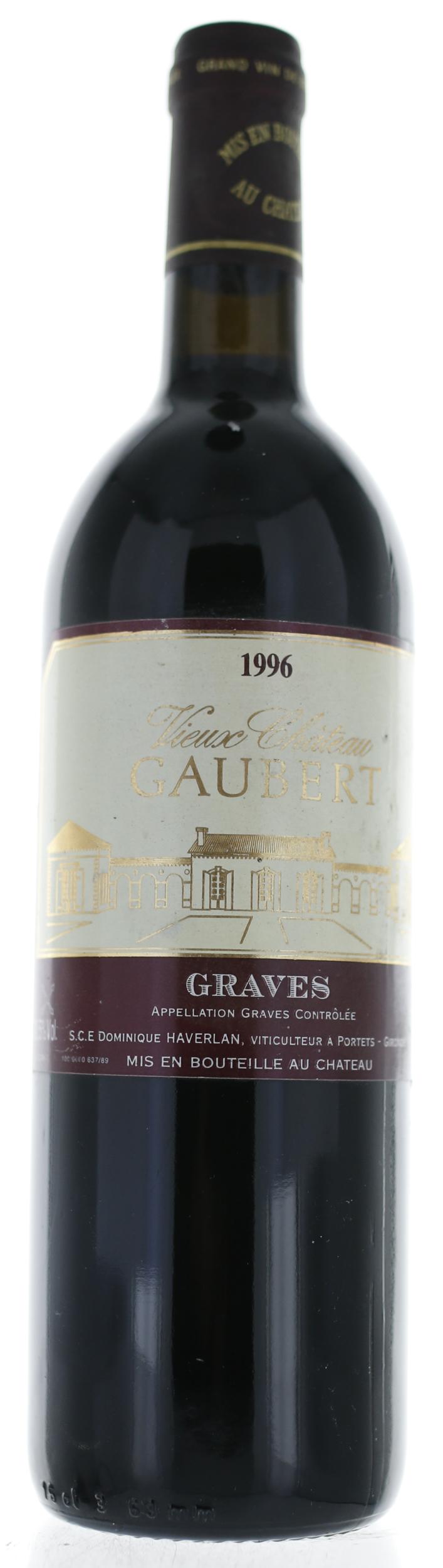 Graves Pessac Leognan - Vieux Château Gaubert - 1996