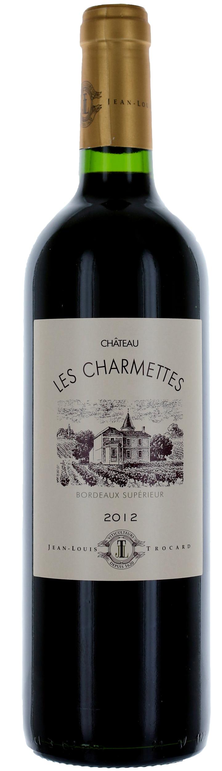 Bordeaux Supérieur - Château Les Charmettes - Jean Louis Trocard - 2016 - 37,5cl