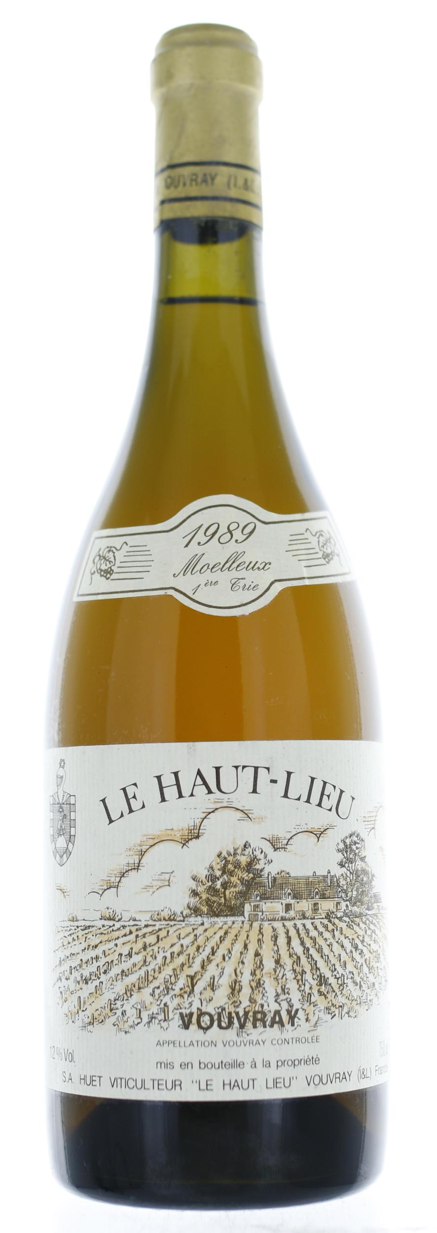 Vouvray - Le Haut-Lieu - Moelleux 1er Trie - 1989