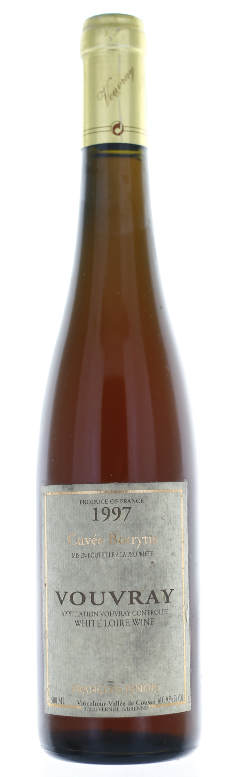 Vouvray - F Pinon Cuvée Botrytis 50cl - 1997