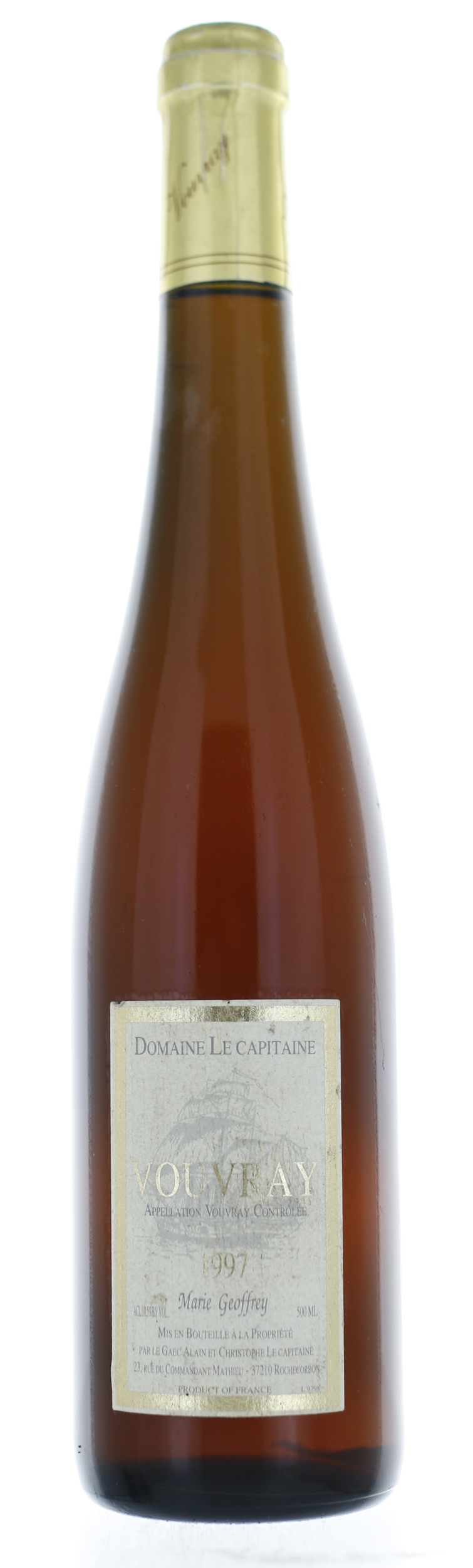 Vouvray - Domaine le Capitaine Vouvray - 1997