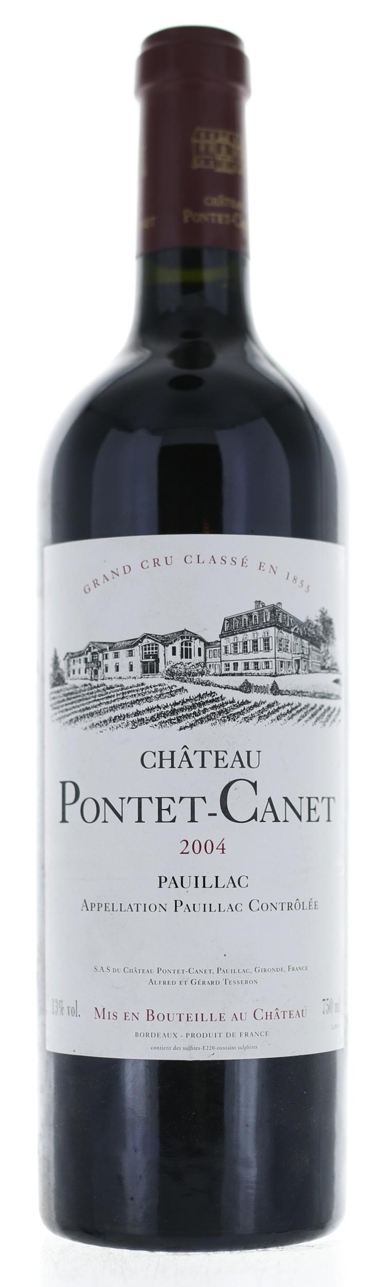 Pauillac - Château Pontet Canet - 2004