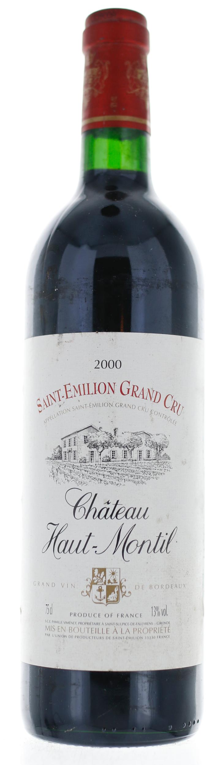 Saint Emilion - Château Haut Montil - 2000