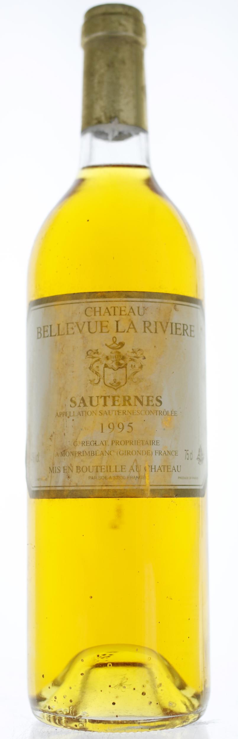 Sauternes - Château Bellevue la Riviere - 1995