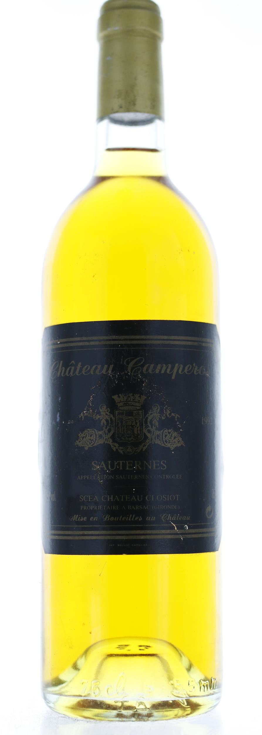 Sauternes - Château Camperos - 1992