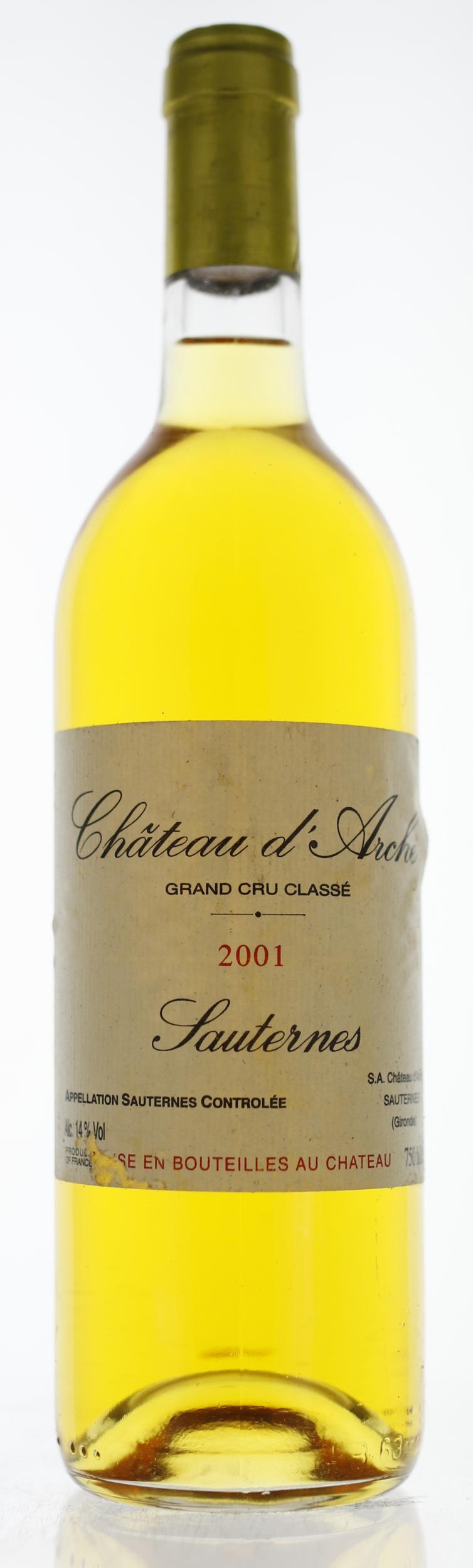 Sauternes - Château d\'Arche - 2001