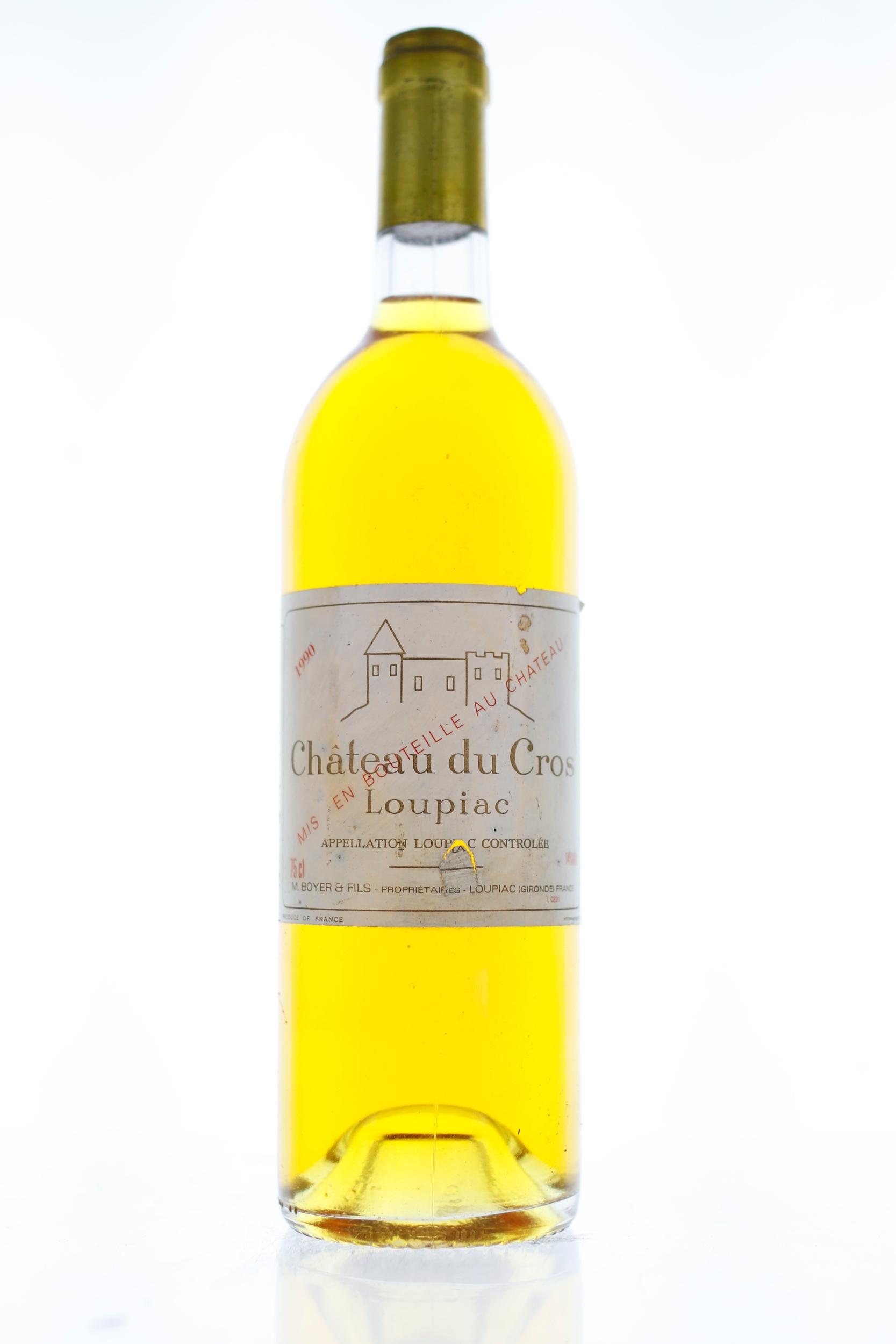 Loupiac - Château du Cros - 1990