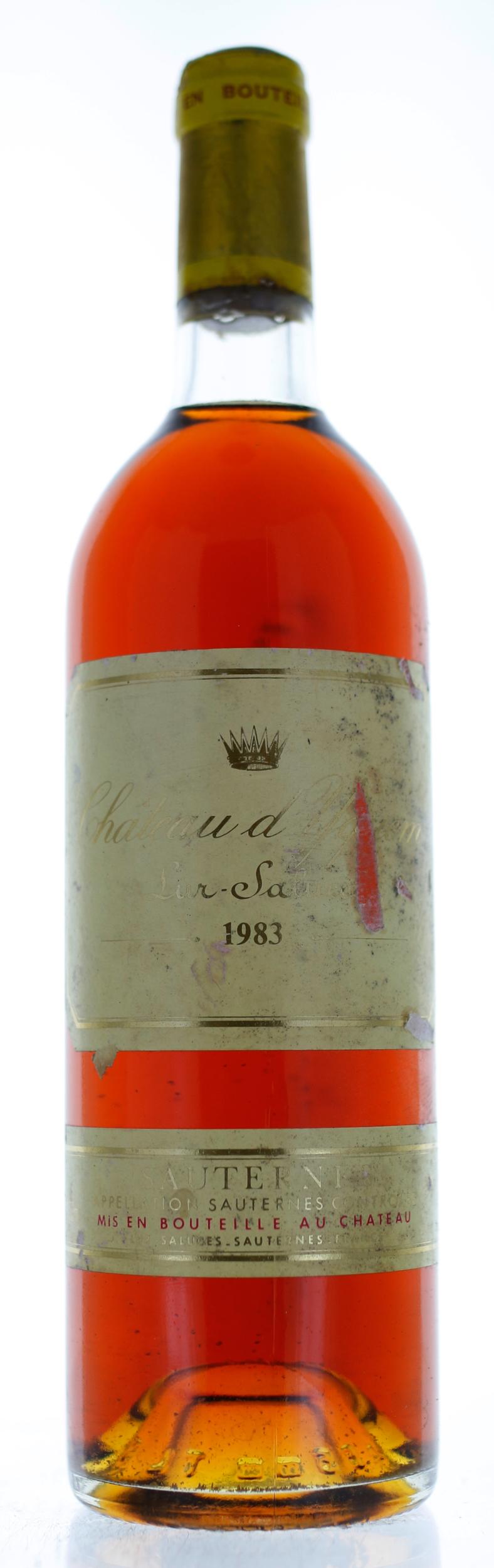 Sauternes - Château d\'Yquem - 1983