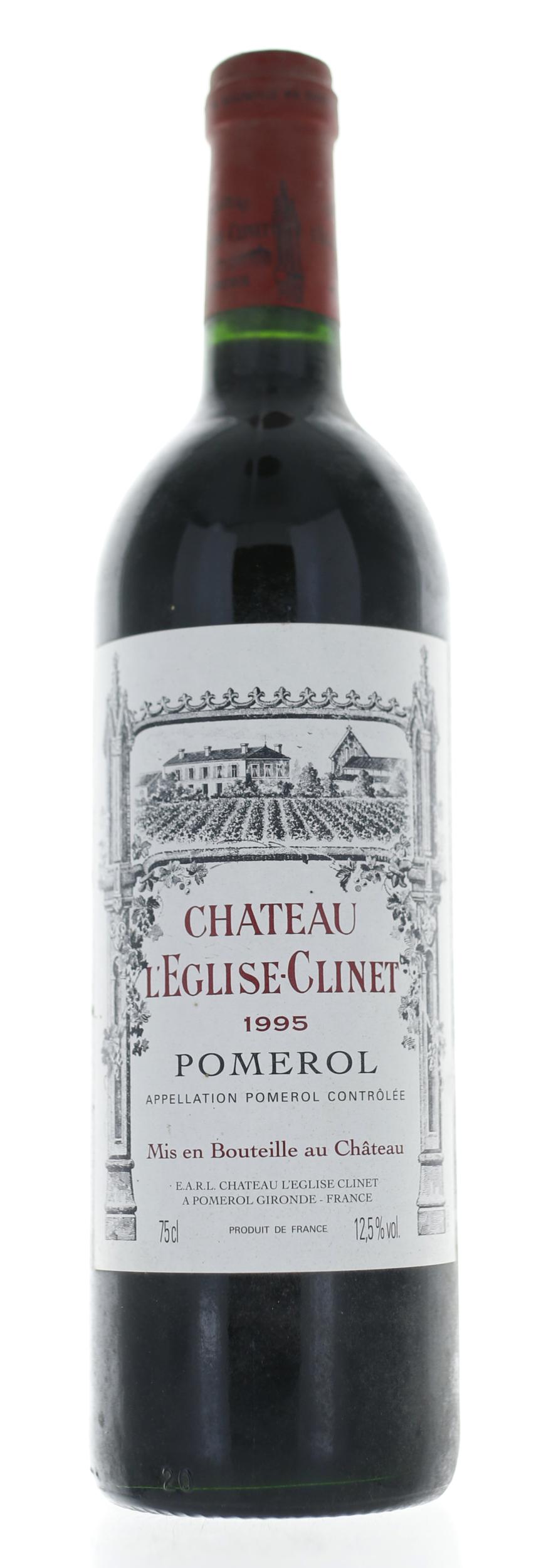 Pomerol - Château Eglise Clinet - 1995