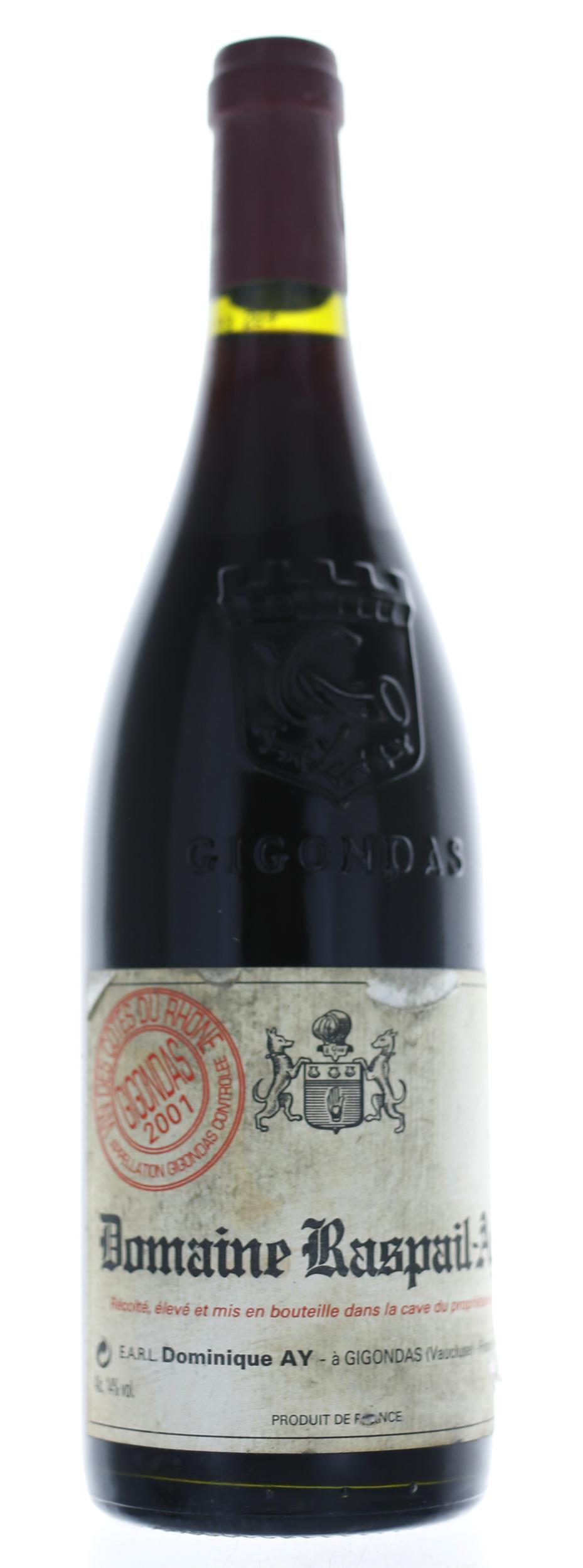 Gigondas - Domaine Raispail-ay - 2001