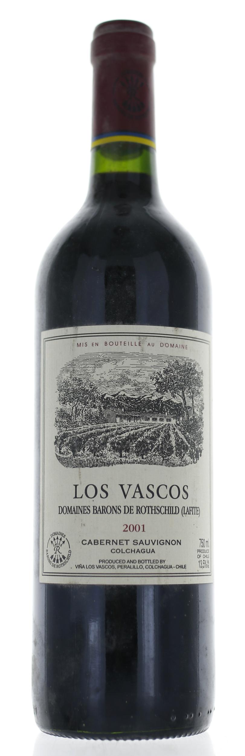 Los Vascos - Domaine de Rothschild -  2001