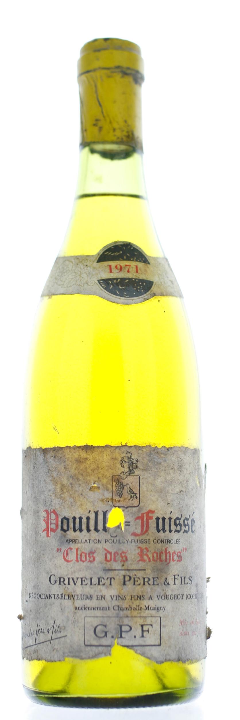 Pouilly Fuisse - Clos des Roches - 1971