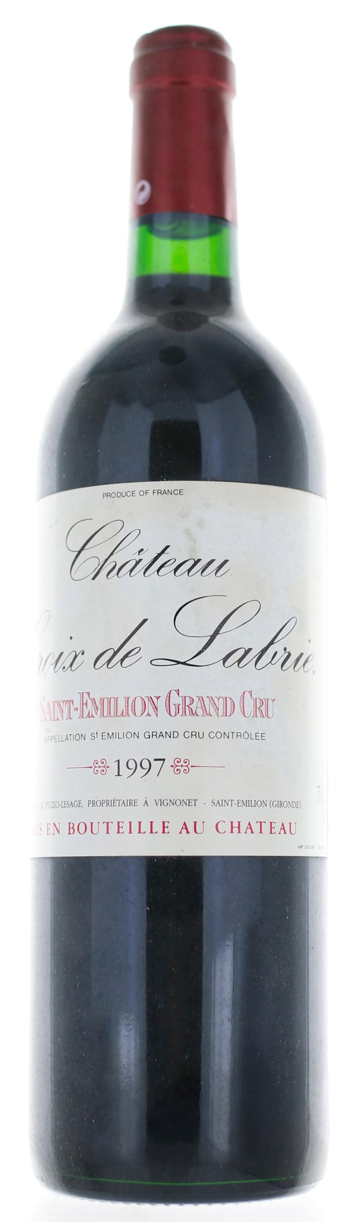 Saint Emilion - Château Croix de Labrie - 1997