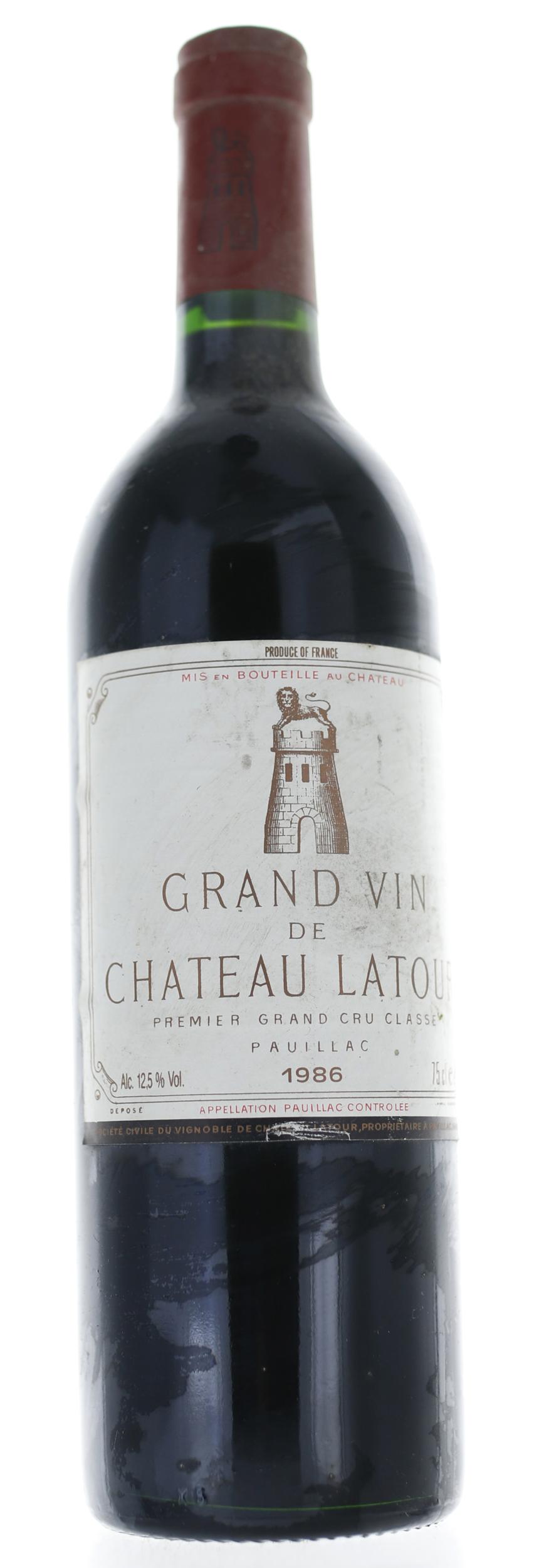 Pauillac - Château Latour - 1986
