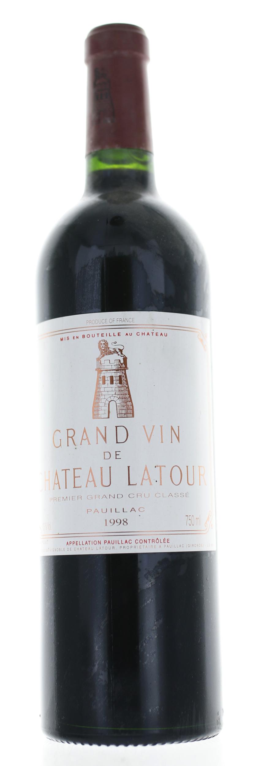 Pauillac - Château Latour - 1998