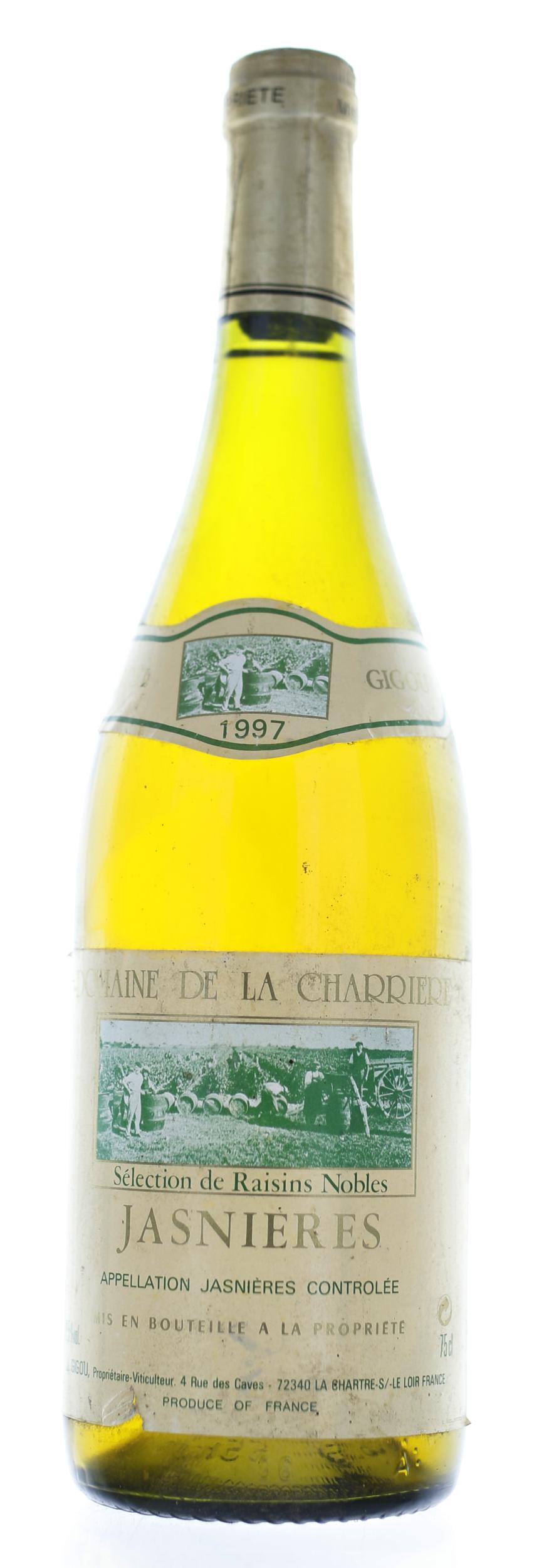 Jasniere - Domaine de la Charrière - 1997
