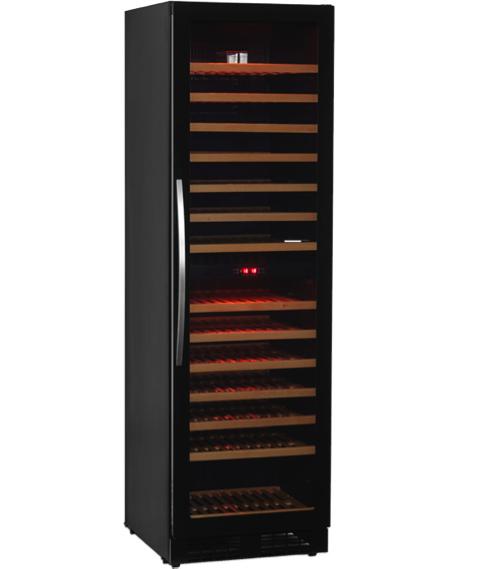 Cave à vin - Duo Température Frameless - 160 bouteilles