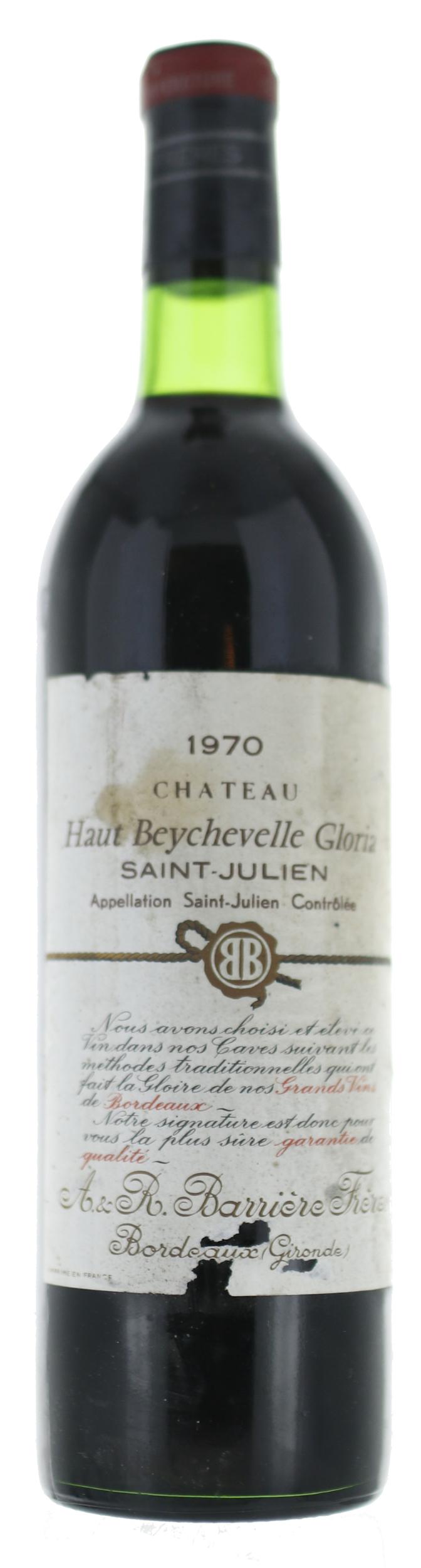 Saint Julien - Château Haut Beychevelle Gloria - 1970