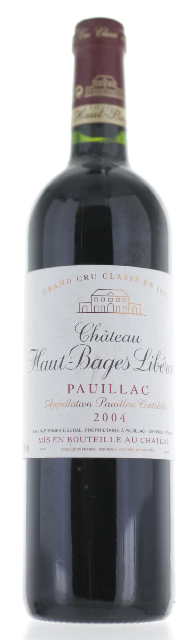 Pauillac - Château Haut Bages Liberal - 2004