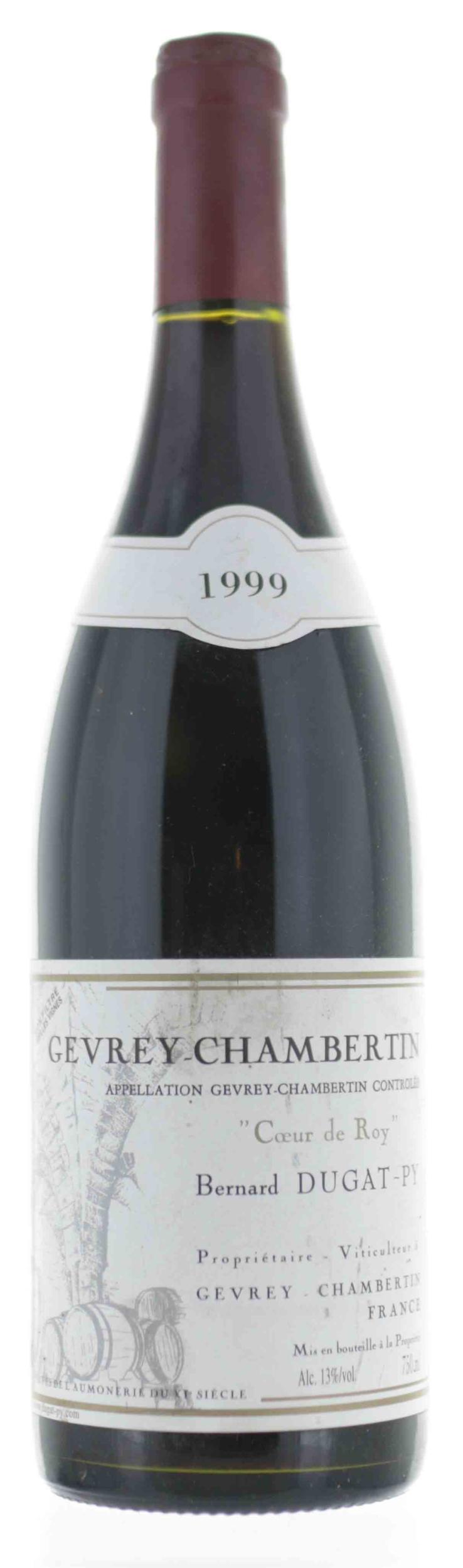Gevrey-Chambertin - Coeur de Roy - Bernard Dugat - 1999
