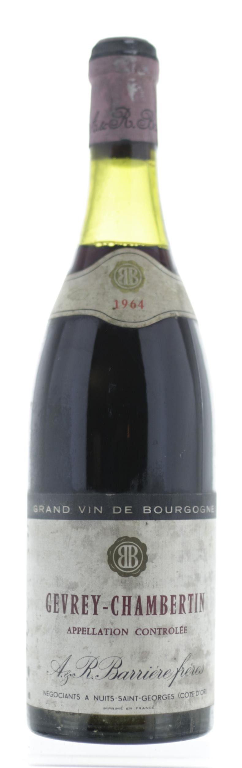 Gevrey Chambertin - A.R Barrière Frères - 1964