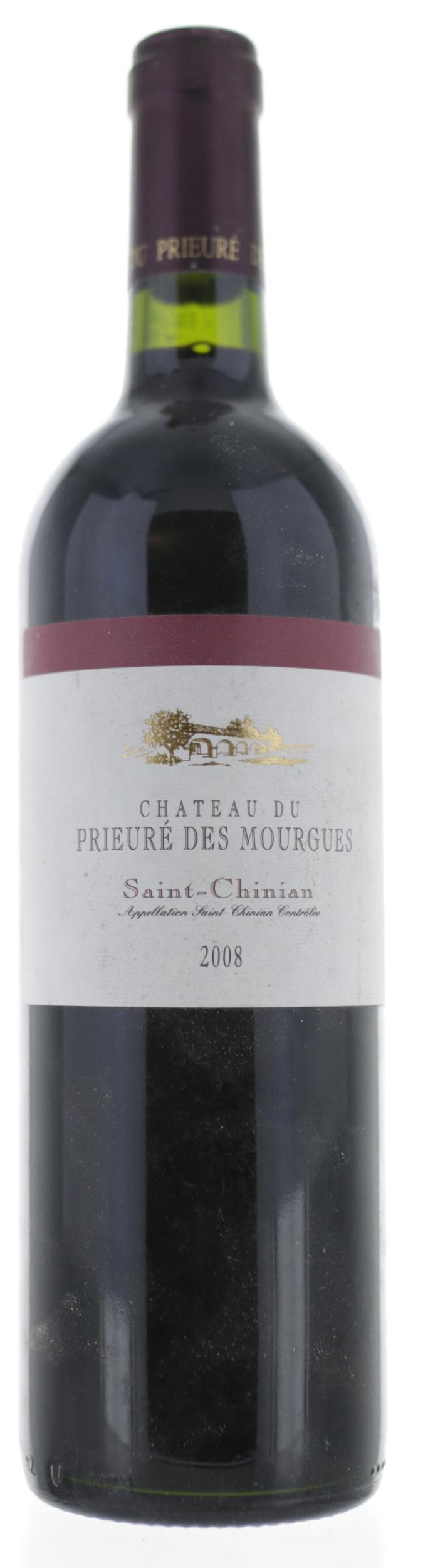 Saint Chinian - Château Prieuré des Mourgues - 2008