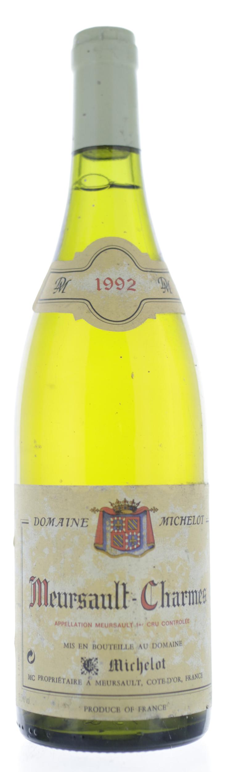 Meursault-Charmes - Domaine Michelot - 1992