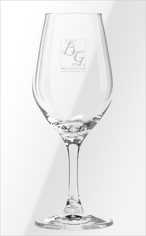 Verre à vin - Brunin-Guillier