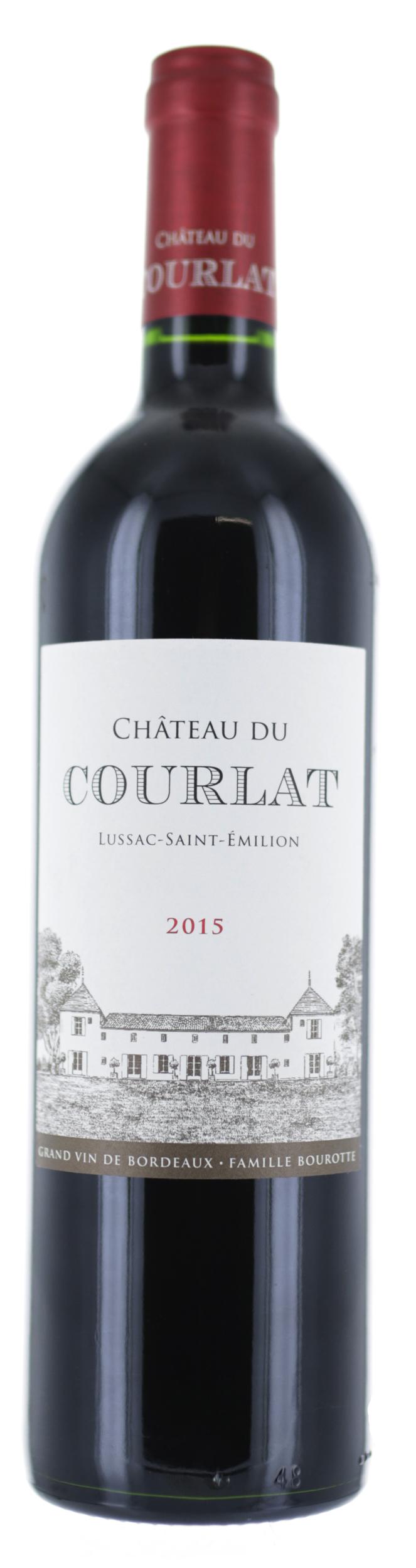 Lussac Saint Emilion - Château du Courlat - 2015