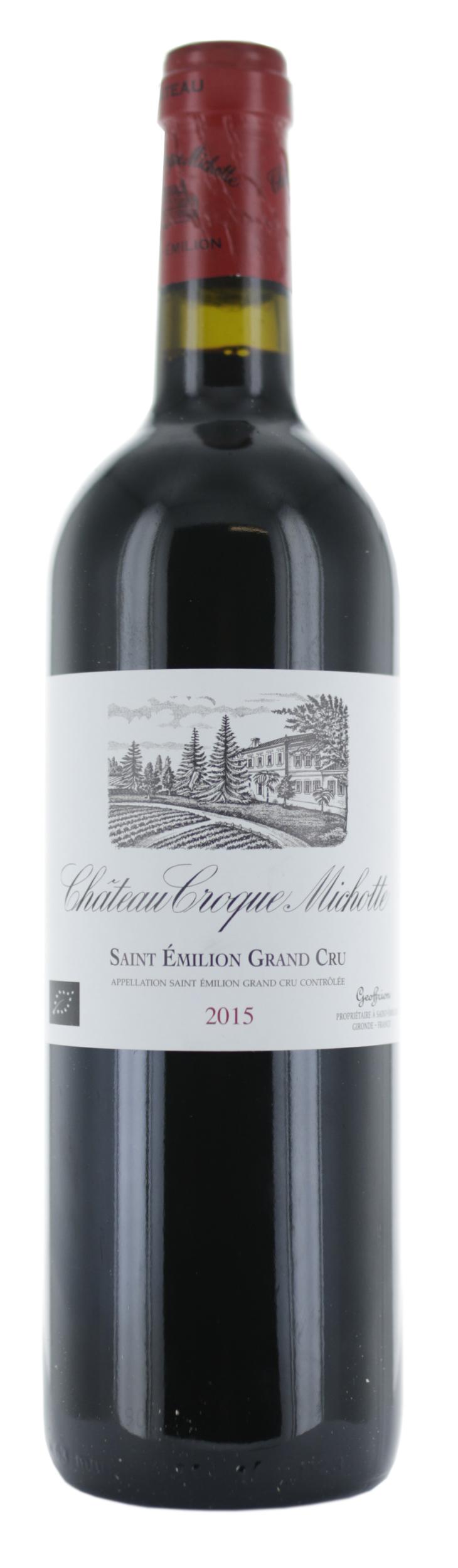Saint Emilion Grand Cru - Château Croque-Michotte - 2015 - BIO