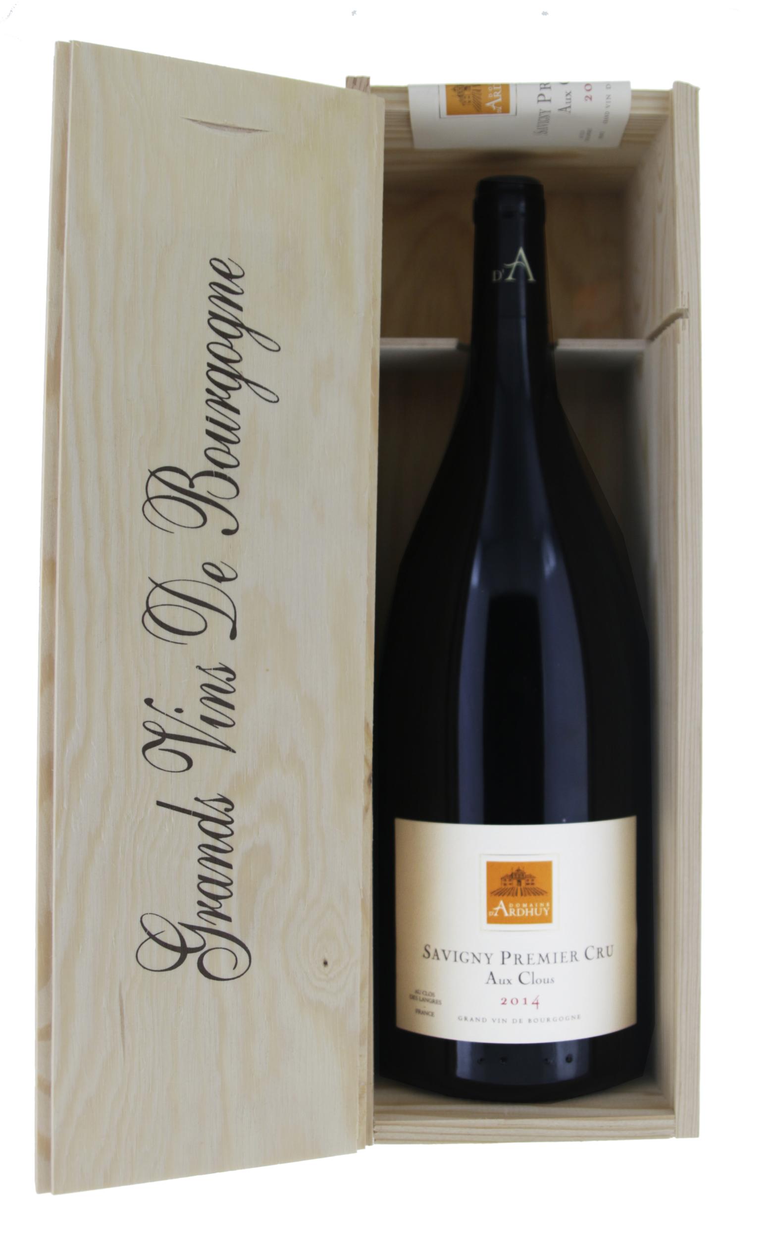 Savigny 1er Cru Aux Clous - Domaine D\'Ardhuy - 2014 - Magnum