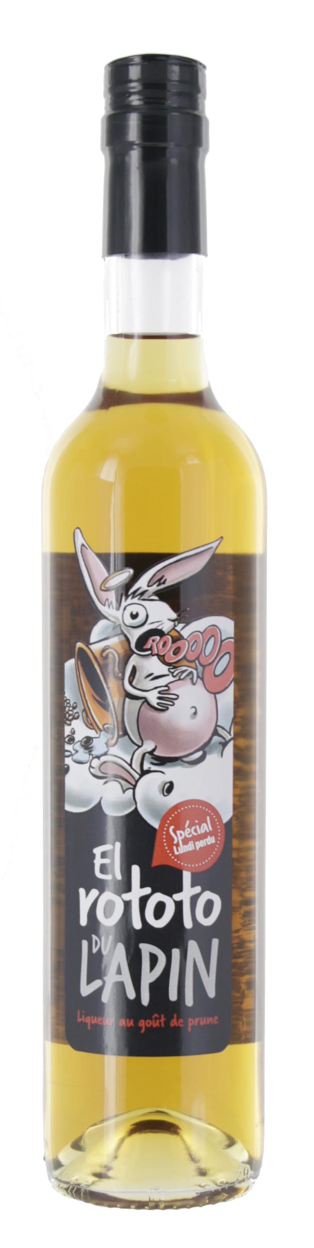 Liqueur - El Rototo du Lapin - Distillerie Gervin - 50cl