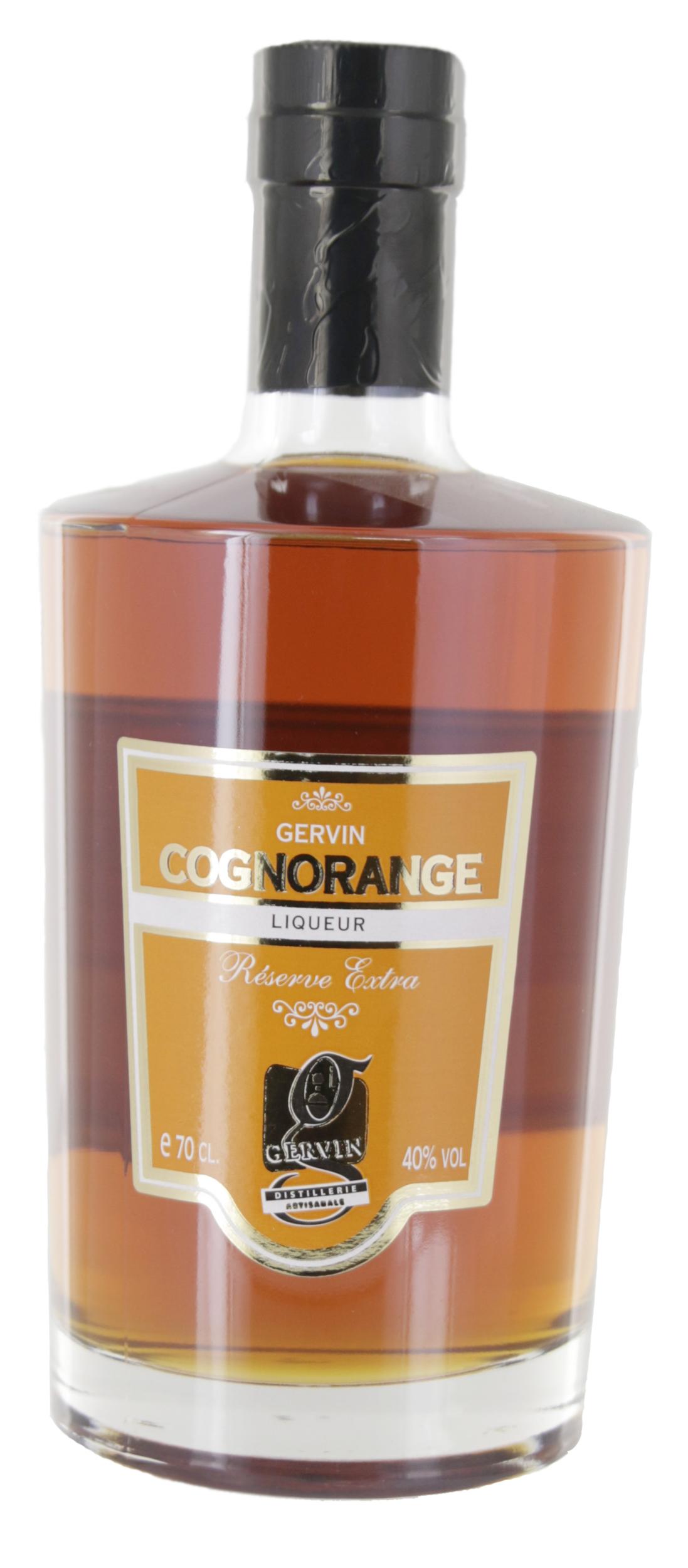 Liqueur - Cognorange - Distillerie Gervin