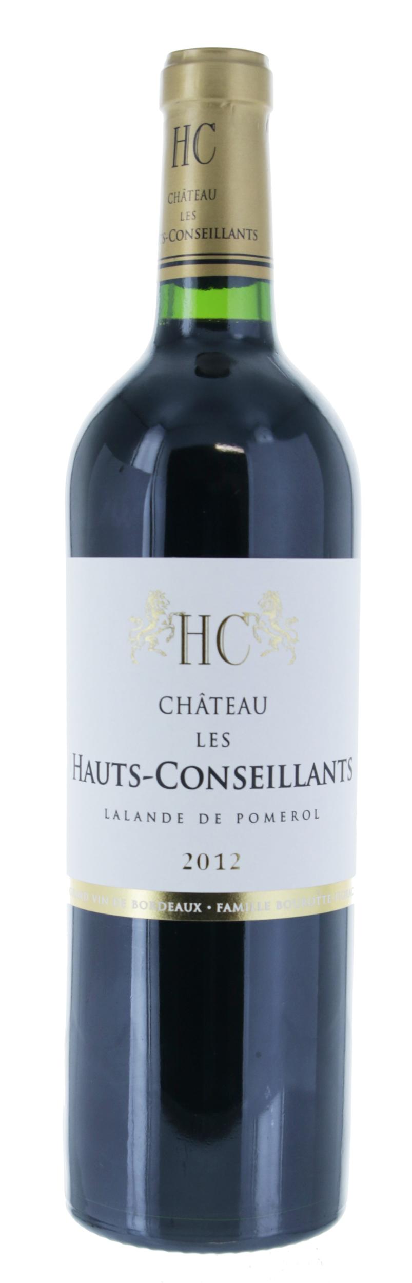 Lalande de pomerol - Château Les Hauts Conseillants - 2012