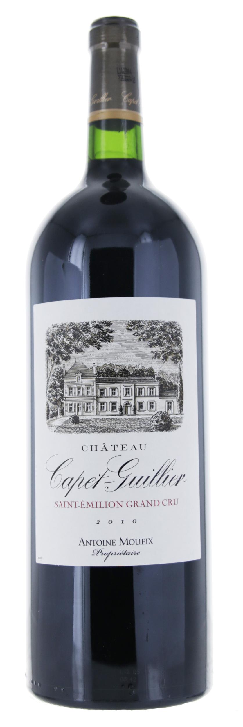 Saint Emilion Grand Cru - Château Capet Guillier - 2010 - Magnum
