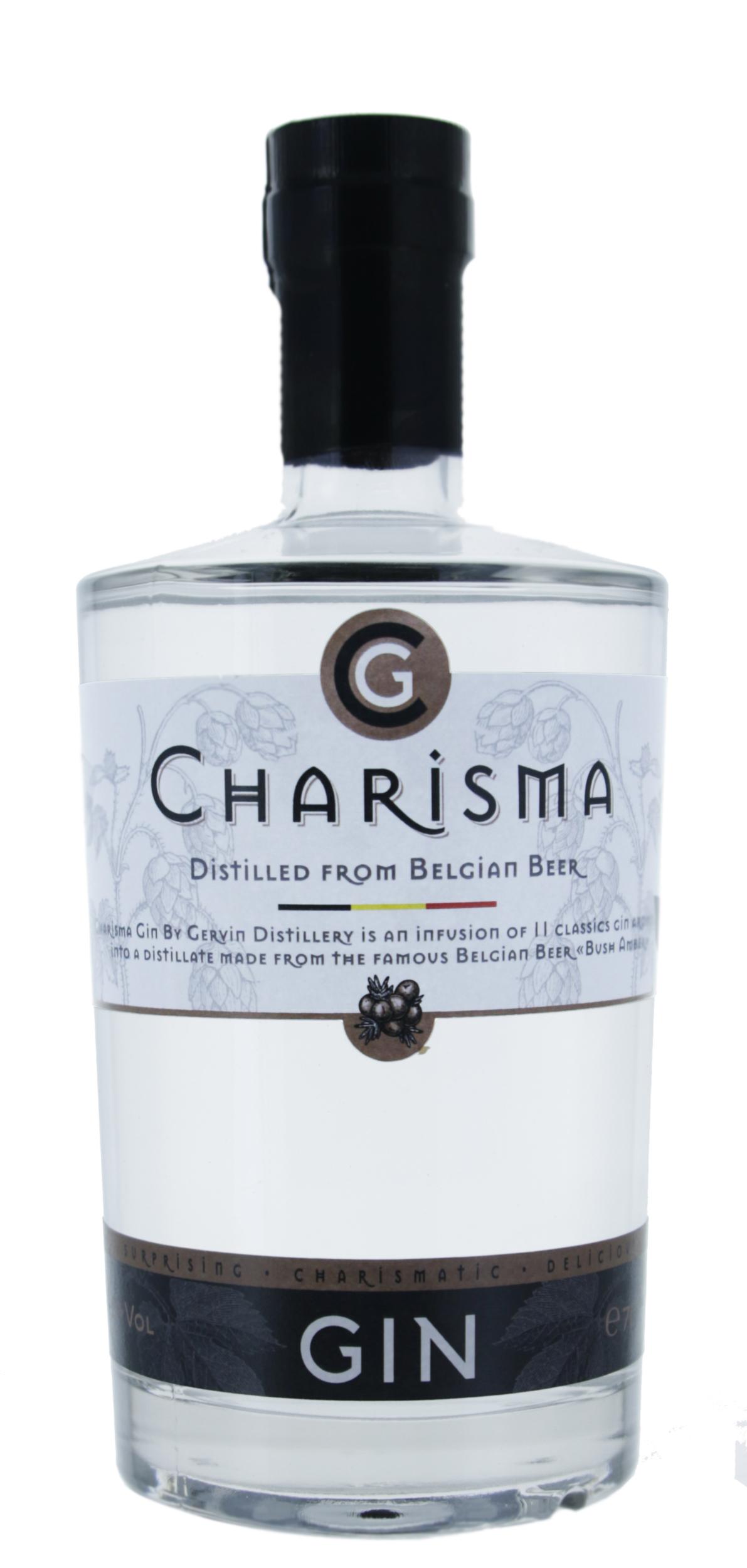 Gin - Charisma - Distillerie Gervin