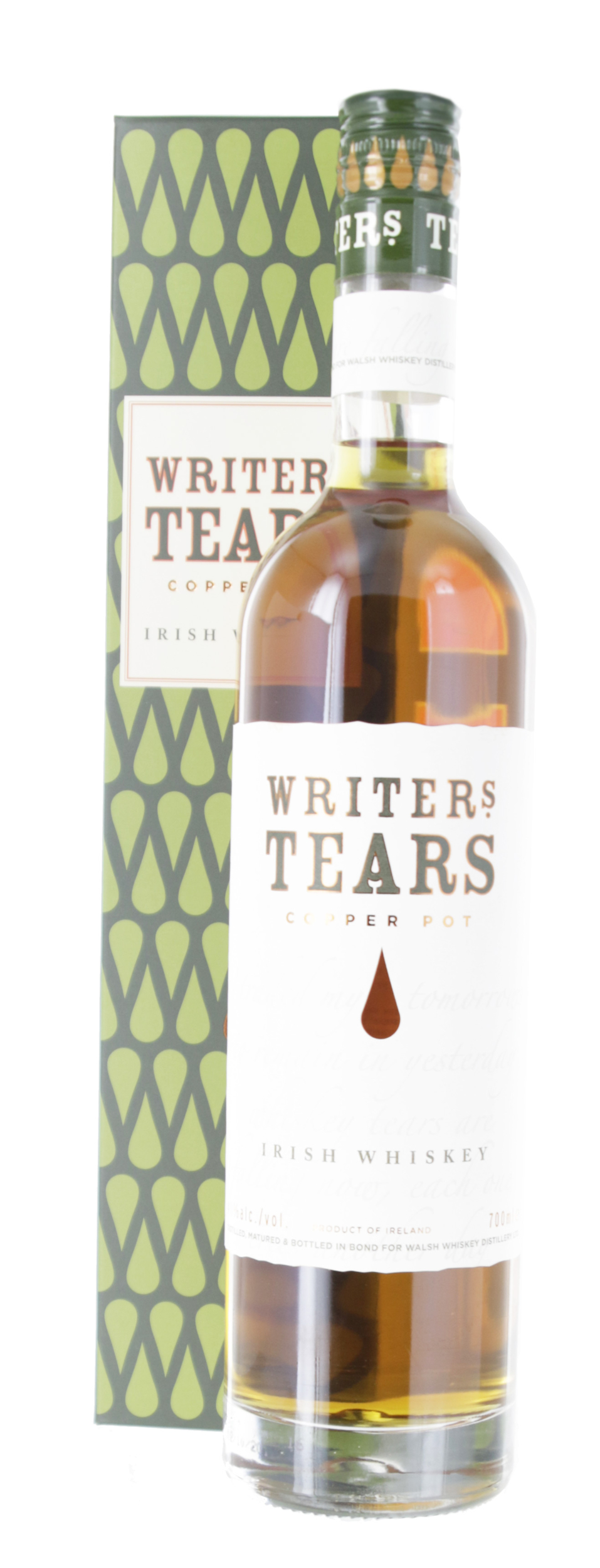 Whisky - Writers Tears - Copper Pot - Irlande - Blended Whisky -  Non tourbé - 70cl - 40°