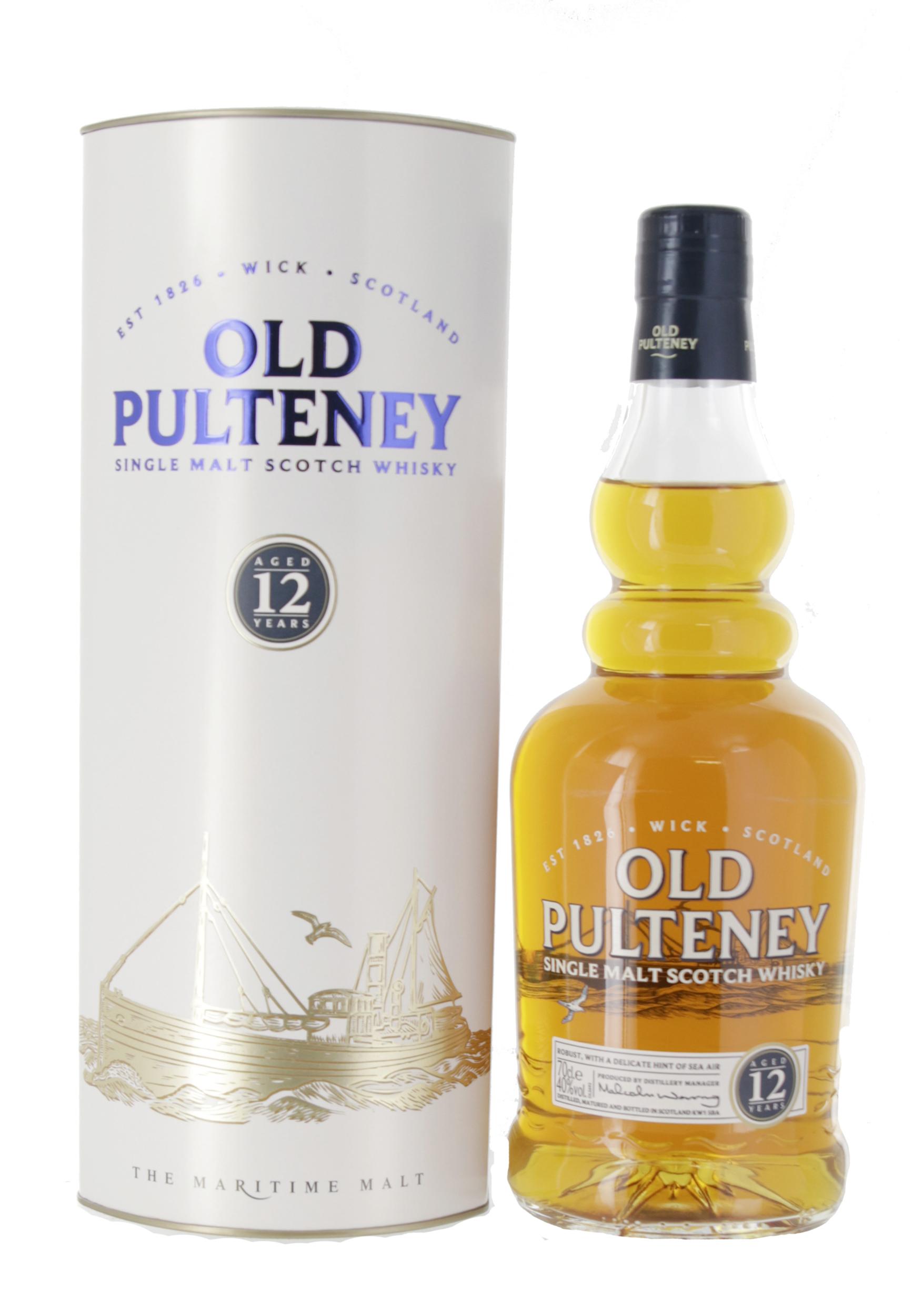 Old Pulteney 12 ans - Ecosse Highlands - Single Malt - Non tourbé - 70cl - 46°