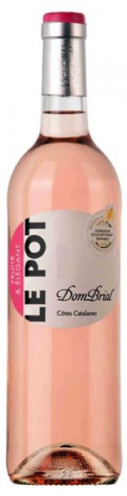 IGP Cotes Catalanes - Le Pot Rose - Domaine Dom Brial - 2017